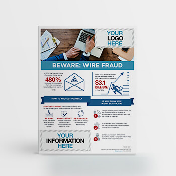 Beware: Wire Fraud
