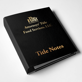 Fund Title Notes
